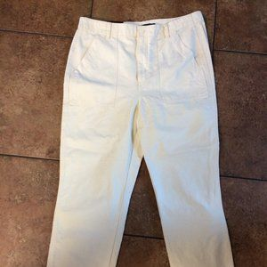 NEW Banana Republic Off White Pants size 14